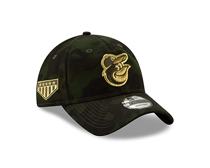 3eef810cd Amazon.com : New Era Baltimore Orioles 2019 MLB Armed Forces Day ...