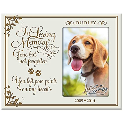 Amazon.com - LifeSong Milestones Personalized Pet Memorial Gift ...