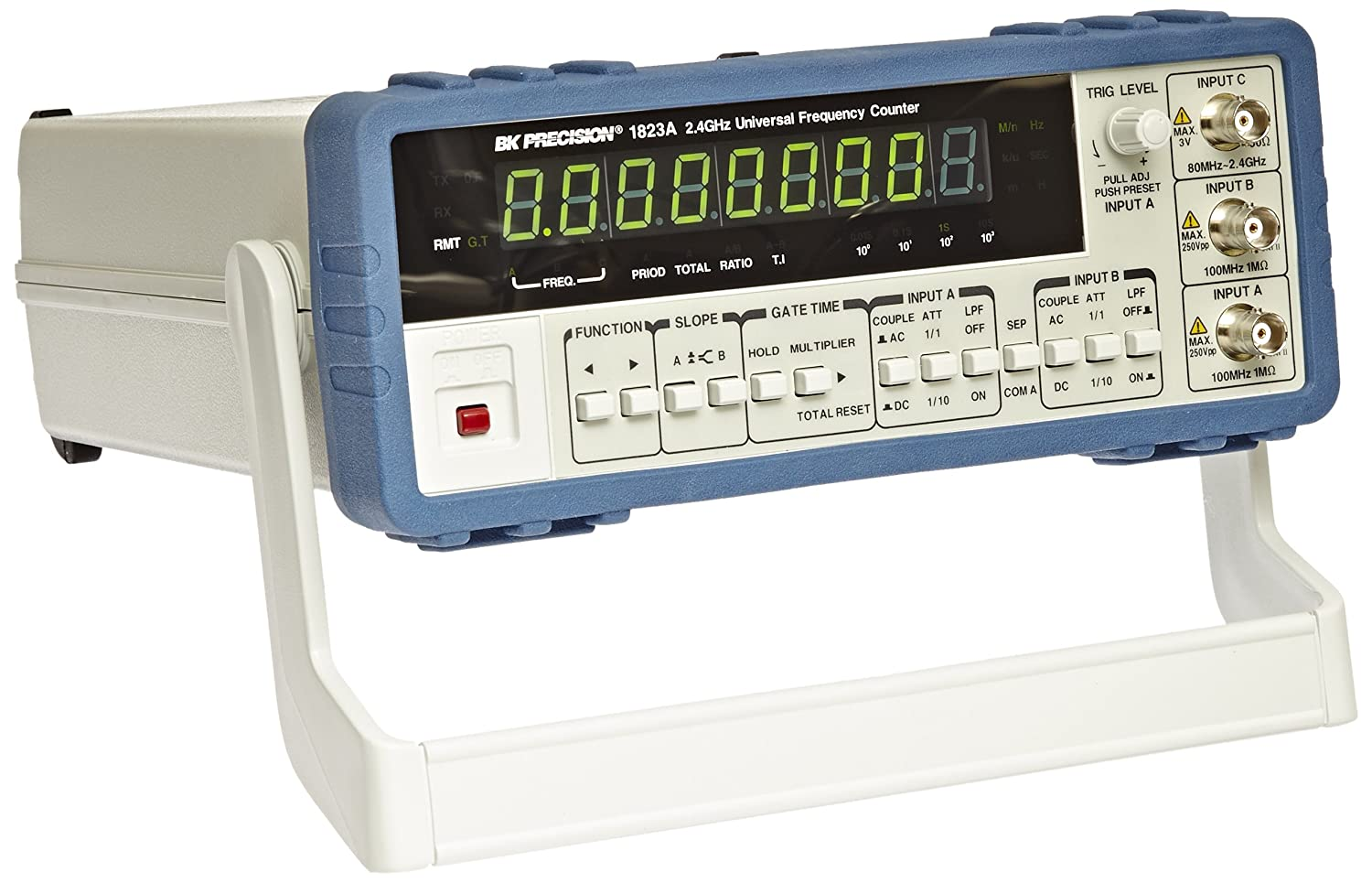 Frequency Counters Pulse Generators Counter And Timer Bk Precision 1823a Universal With Ratio Function