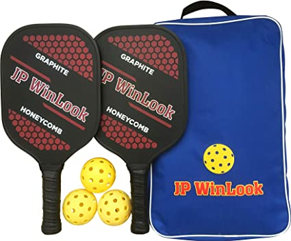 Amazon.com: JP WinLook - Juego de paletas de Pickleball (2 ...