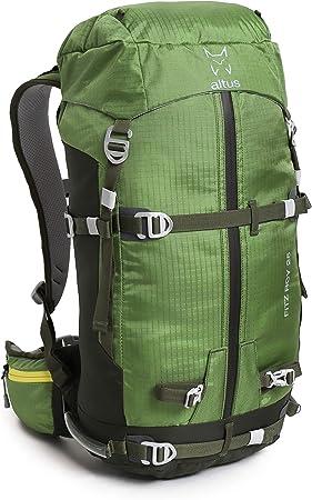 ALTUS - Mochila de Trekking Fitz-Roy 25L, Verde Bosque, 1,1 ...