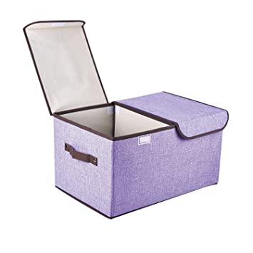 storage box fabric bins containers boxes lids removable dividers with ikea anchor on sale