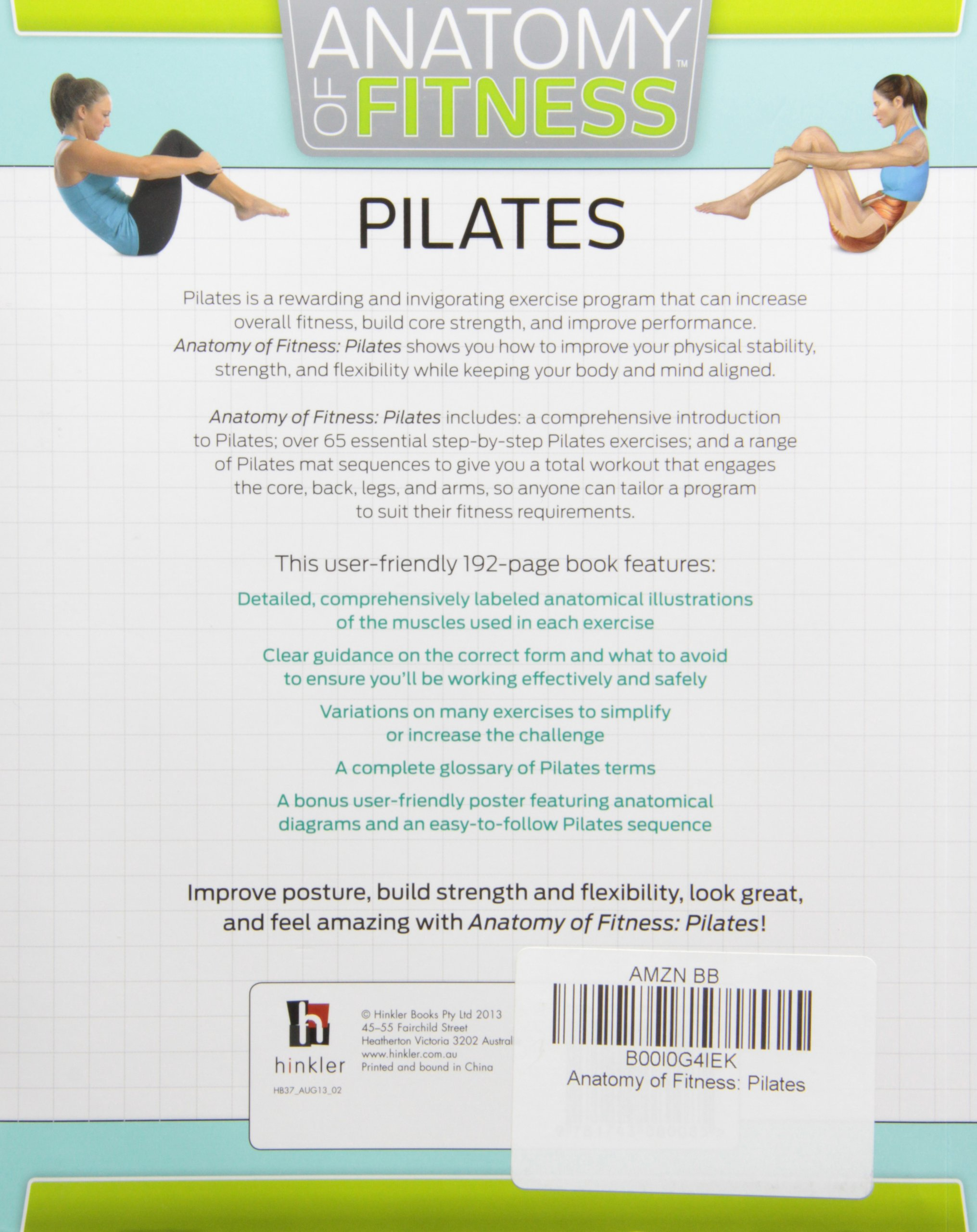 Anatomy of Fitness Pilates by Isabel Eisen (2013-12-06): Isabel ...