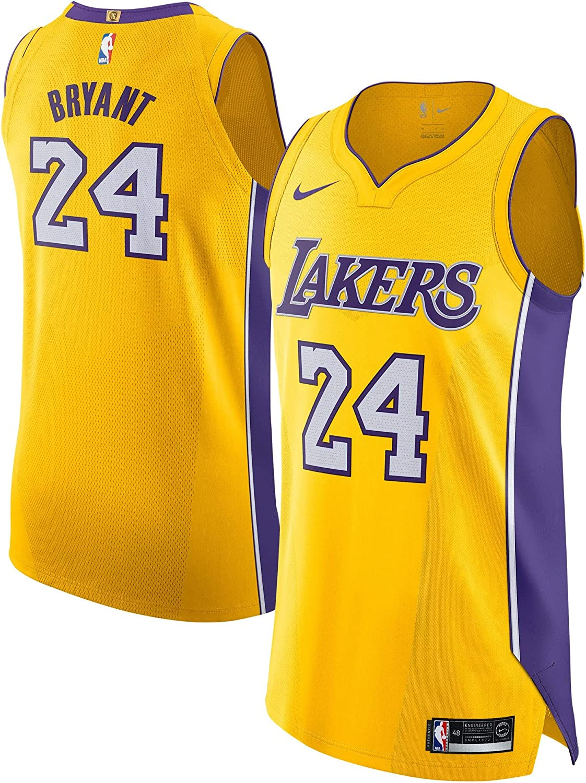 Nike Kobe Bryant Los Angeles Lakers Authentique Doré Icon