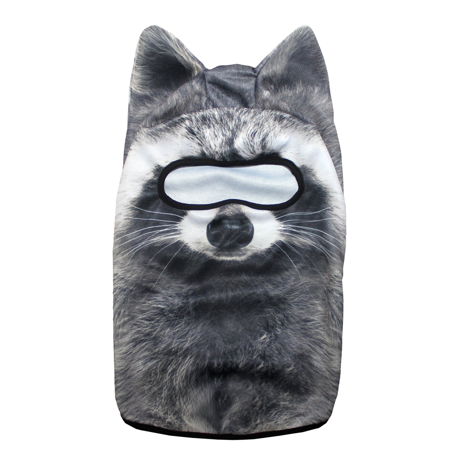 Halloween Party Outdoor Activities Ski JIUSY 3D Stand Ears Animal Balaclava Face Mask for Music Festivals Raves