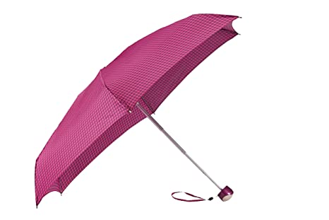 Samsonite Lightdrop Manual Paraguas 5, Color Morado