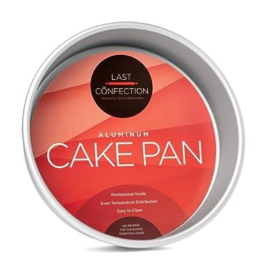 Last Confection 9  x 2  Deep Round Aluminum Cake Pan - Professional Bakeware