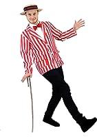 I Love Fancy Dress ILFD4012M Men's Striped Blazer (Medium)