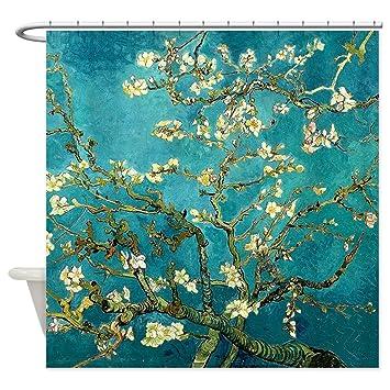 Superb CafePress   Van Gogh Almond Blossoms Tree Shower Curtain   Decorative  Fabric Shower Curtain