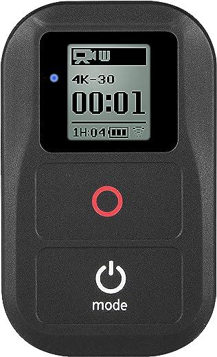 جهاز تحكم لاسلكي مضاد للماء من Suptig لجهاز Gopro Hero 8 Hero 7 Black Hero 6 Black Hero 5 Hero 5session Hero 4 Hero4 Session Hero 3+ Hero 3 Action جهاز تحكم عن بعد واي فاي
