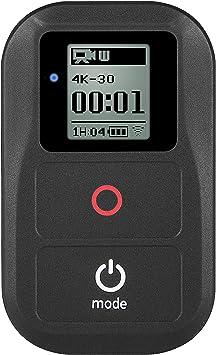 Imperm/éable /Étanche jusqu/à 2 m/ètres 4 Session Wirless 3,Hero Hero 4 Hero 3 Hero 5 Hero 6 SHOOT Smart Remote T/él/écommande pour GoPro Hero 8 Hero 7 Black Wi-FI Hero 3+ LCD
