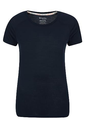 Mountain Warehouse T-Shirt tecnico delle donne di IsoCool – camicia rotonda del T del collo, camicia corta dei manicotti, parte superiore protetta UV delle signore