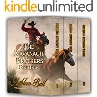 The Kavanagh Brothers Series Books 1-3: Christian Historical Western Romance