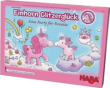 HABA- Einhorn Glitzerglück - una Fiesta para Rosalie, Encantador Juego de colaboración para 2-4 Jugadores de 4-99 años, con Reglas Sencillas para una diversión rápida. (302767): Mückel, Kristin: Amazon.es: Juguetes y juegos
