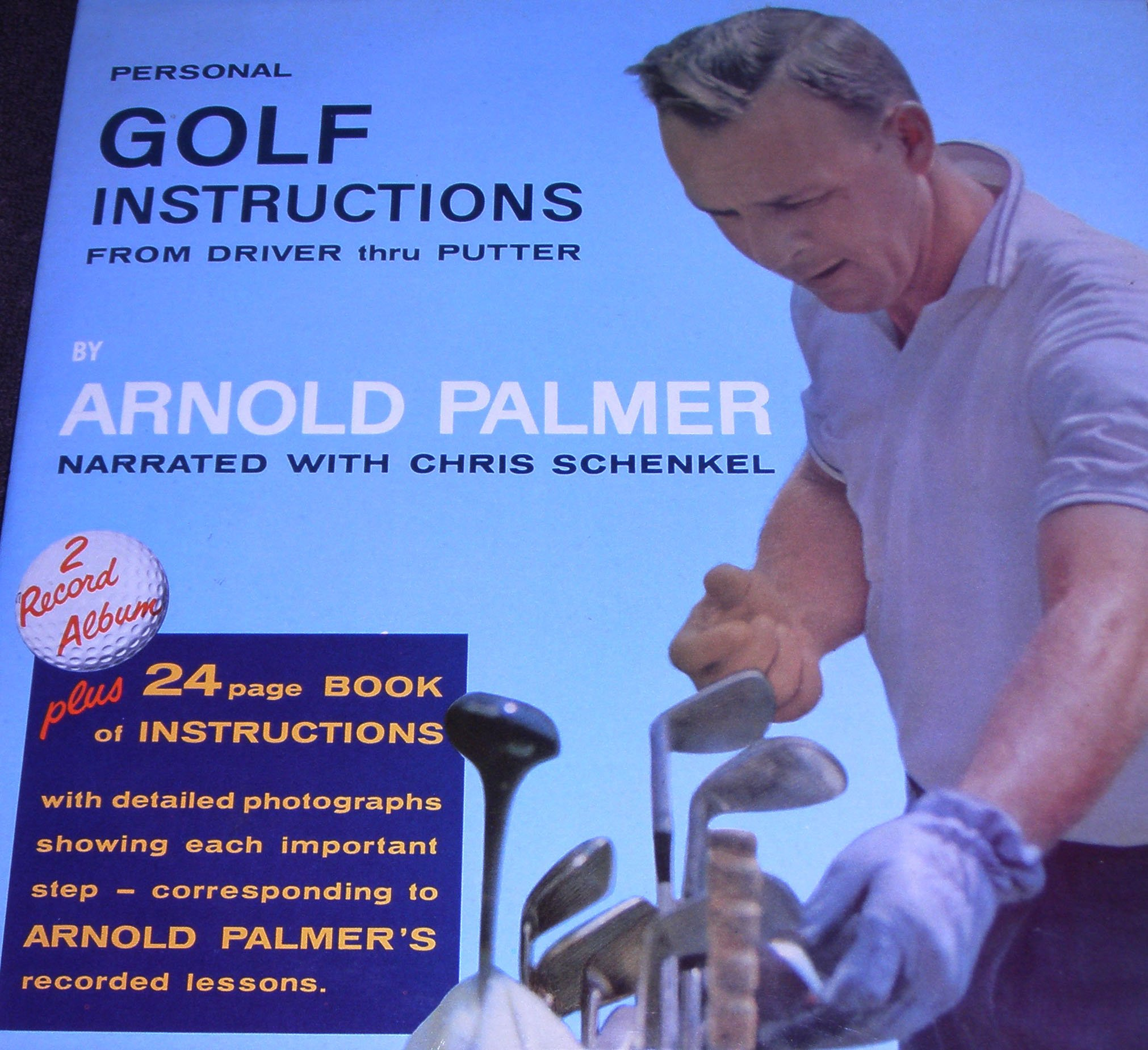 Personal Golf Instructions From Driver Thru Putter by Sports Champions