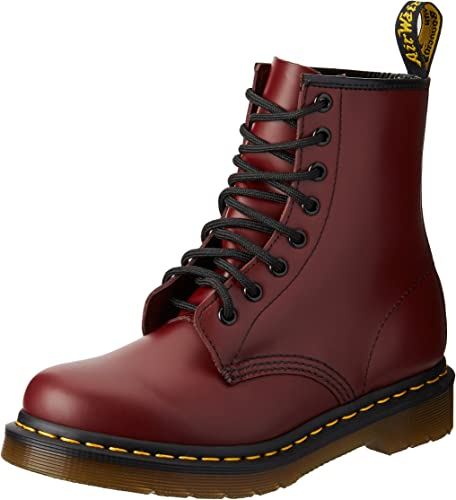 womens red dr martens 1460 8 eye boots | schuh | Boots, Dr