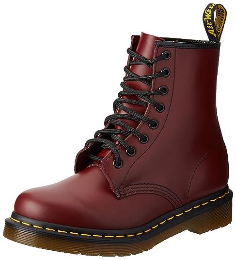 Talla 1460 Wair Air Charol Dr Rojo Mujer Martens Botas Zapatos qO1zfxZC