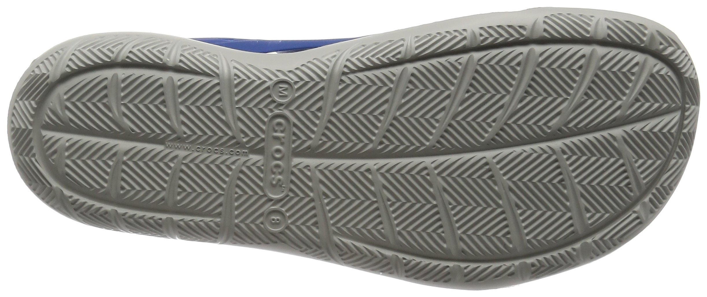 crocs Men's Swiftwater Wave M Flat,Blue Jean/Pearl White,4 M US by Crocs (Image #3)