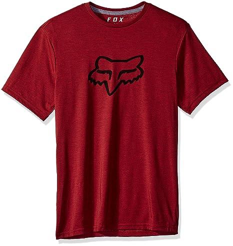 Fox Tournament Tech - Camisetas Hombre - Rojo Talla M 2019