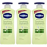 Vaseline Intensive Care hand and body lotion For Dehydrated Skin Soothing Hydration Dry Skin Lotion With 100 percent…