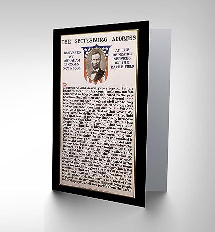 Amazon war american civil lincoln gettysburg address president war american civil lincoln gettysburg address president greetings card cl1191 m4hsunfo