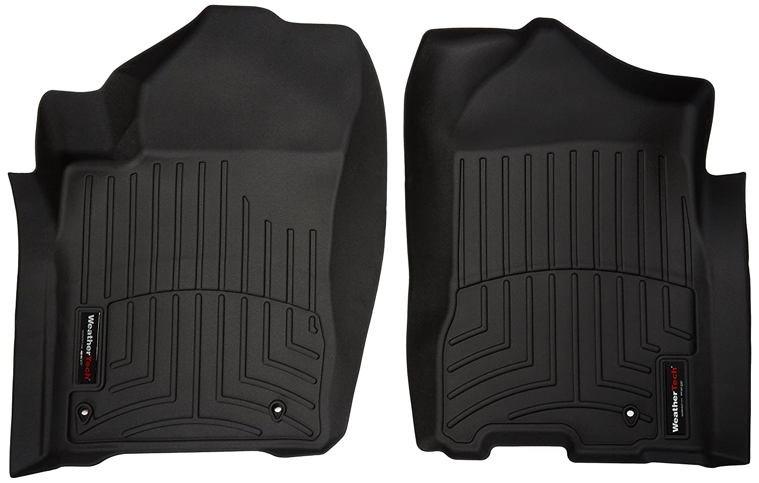 WeatherTech Custom Fit Front FloorLiner for Select Nissan/Infiniti Models (Black) 442091
