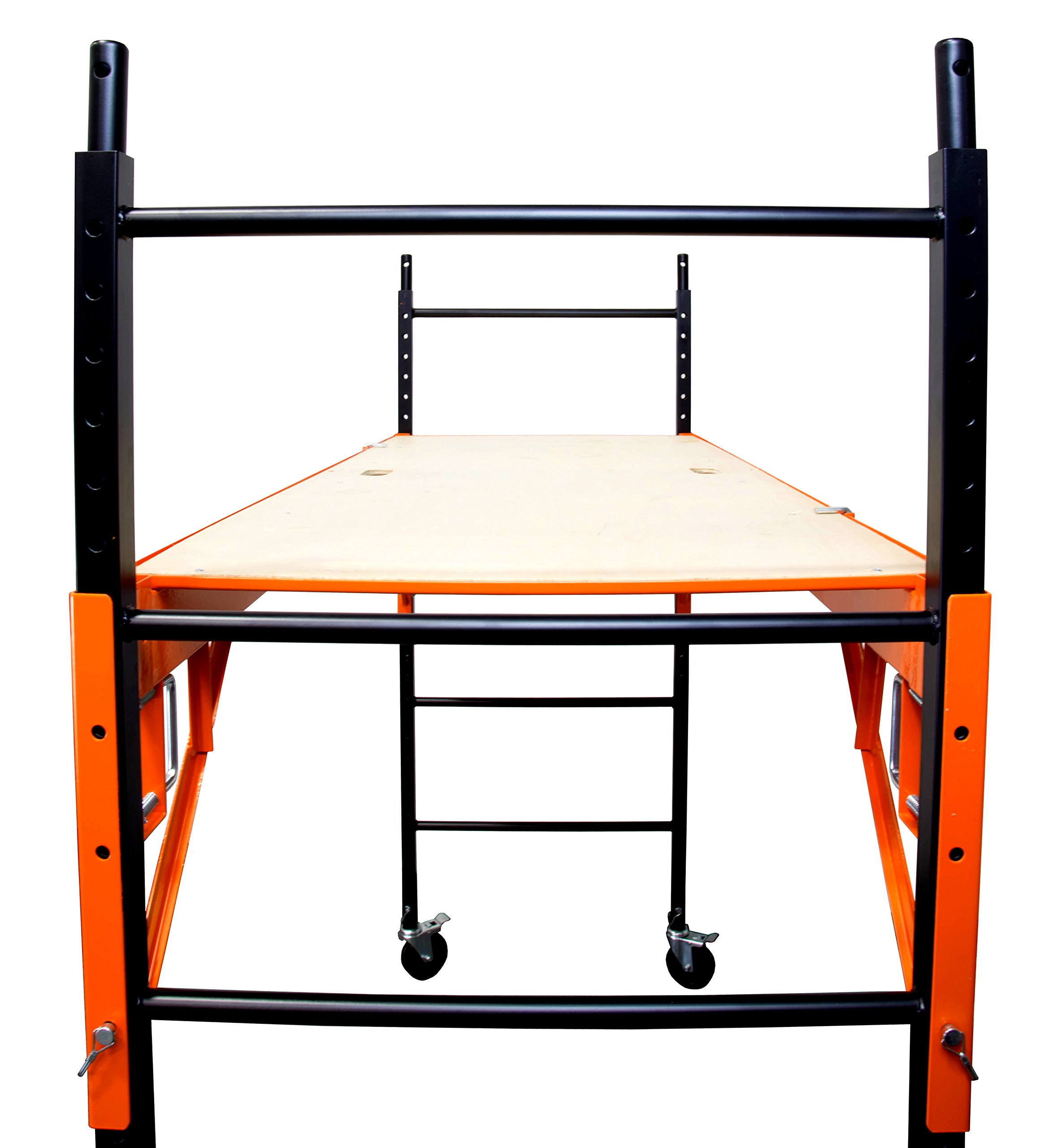 WEN 31109 1000 lb Capacity Rolling Industrial Scaffolding by WEN (Image #4)