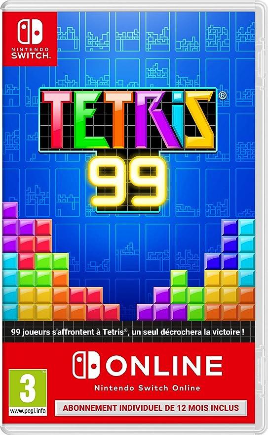 TETRIS 99 + 1 AN DABONNEMENT AU NINTENDO SWITCH ONLINE [Importación francesa]: Amazon.es: Videojuegos