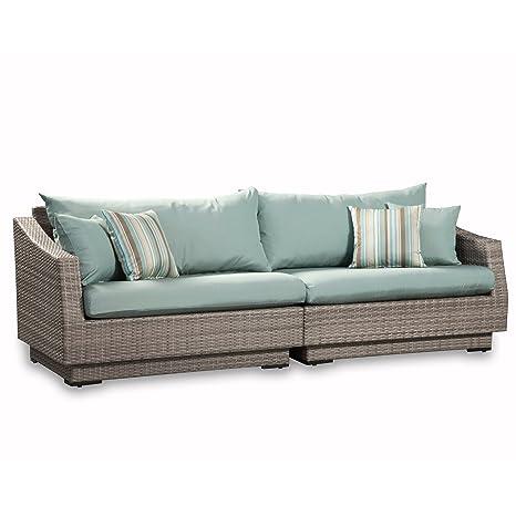 Amazon.com: RST marcas Cannes sofá de 2 piezas con cojines ...