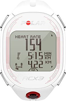 Polar RCX3 Run (Incluye S3+) Pulsómetro, Mujer, Blanco, 12.8 cm: Amazon.es: Deportes y aire libre