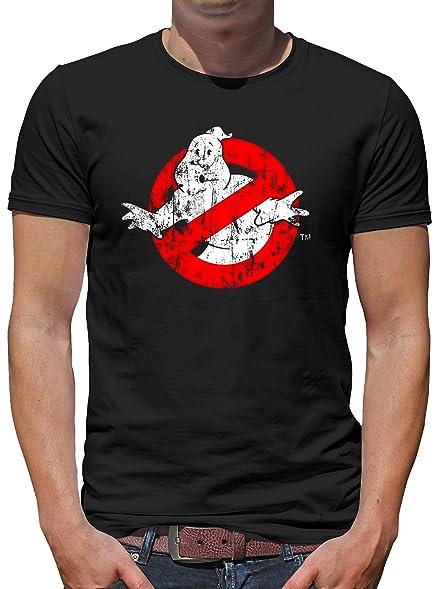 TLM Ghostbuster Distressed T-Shirt Herren S Schwarz