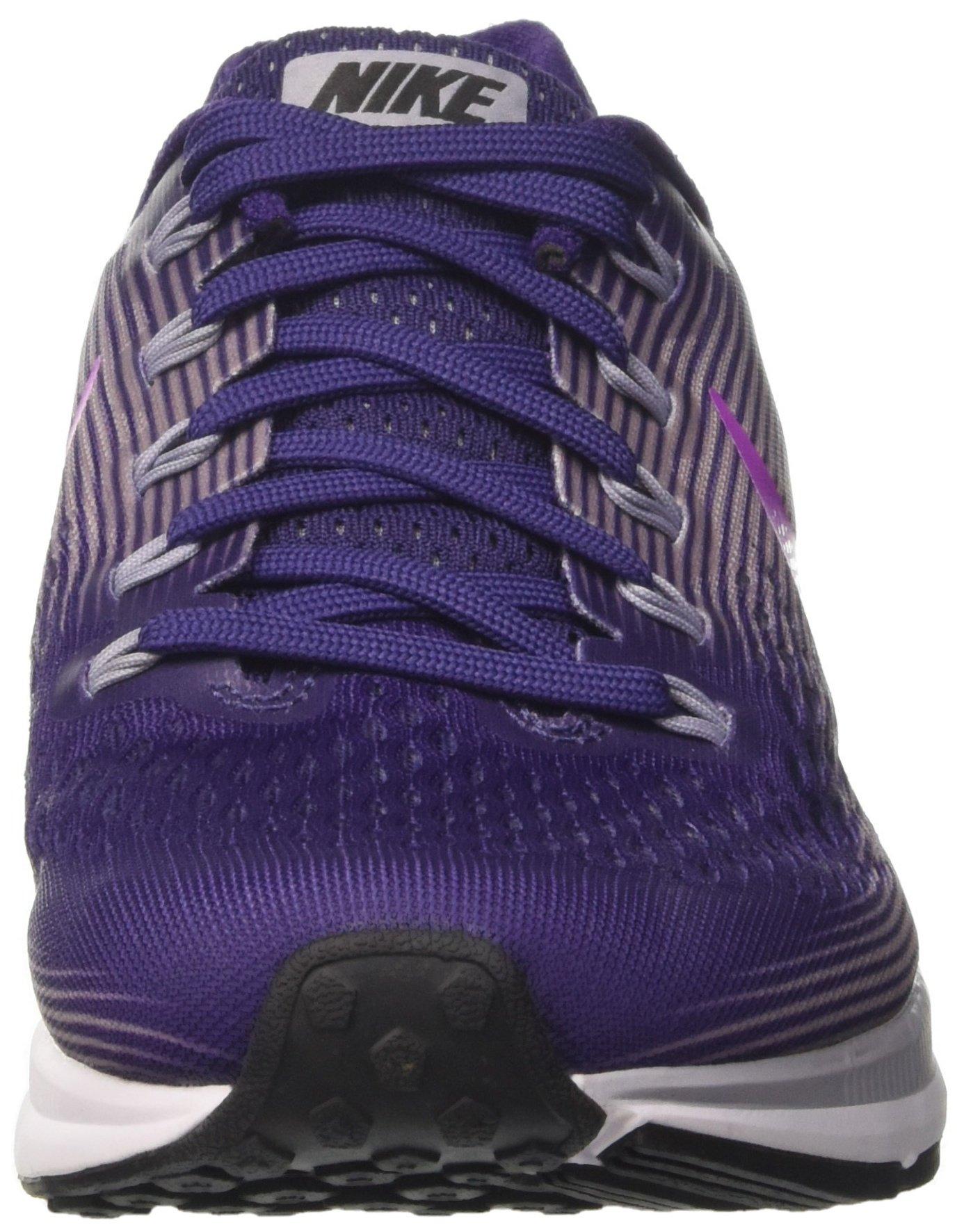 Nike Women's Air Zoom Pegasus 34 Running Shoes-Ink/Hyper Violet-6 by Nike (Image #4)