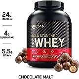 Optimum Nutrition Gold Standard 100% Whey Protein Powder, Chocolate Malt, 2.27 Kilograms