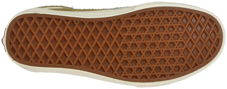 Vans Unisex-Erwachsene Sneaker, Old Skool Suede Sneaker, Unisex-Erwachsene blau Gelb (Fuzzy Suede/ Medal Bronze) 3f790b
