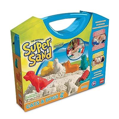 Super Sand-83236 Maletón Mascotas y 2 Rodillos, Goliath 83236: Juguetes y juegos