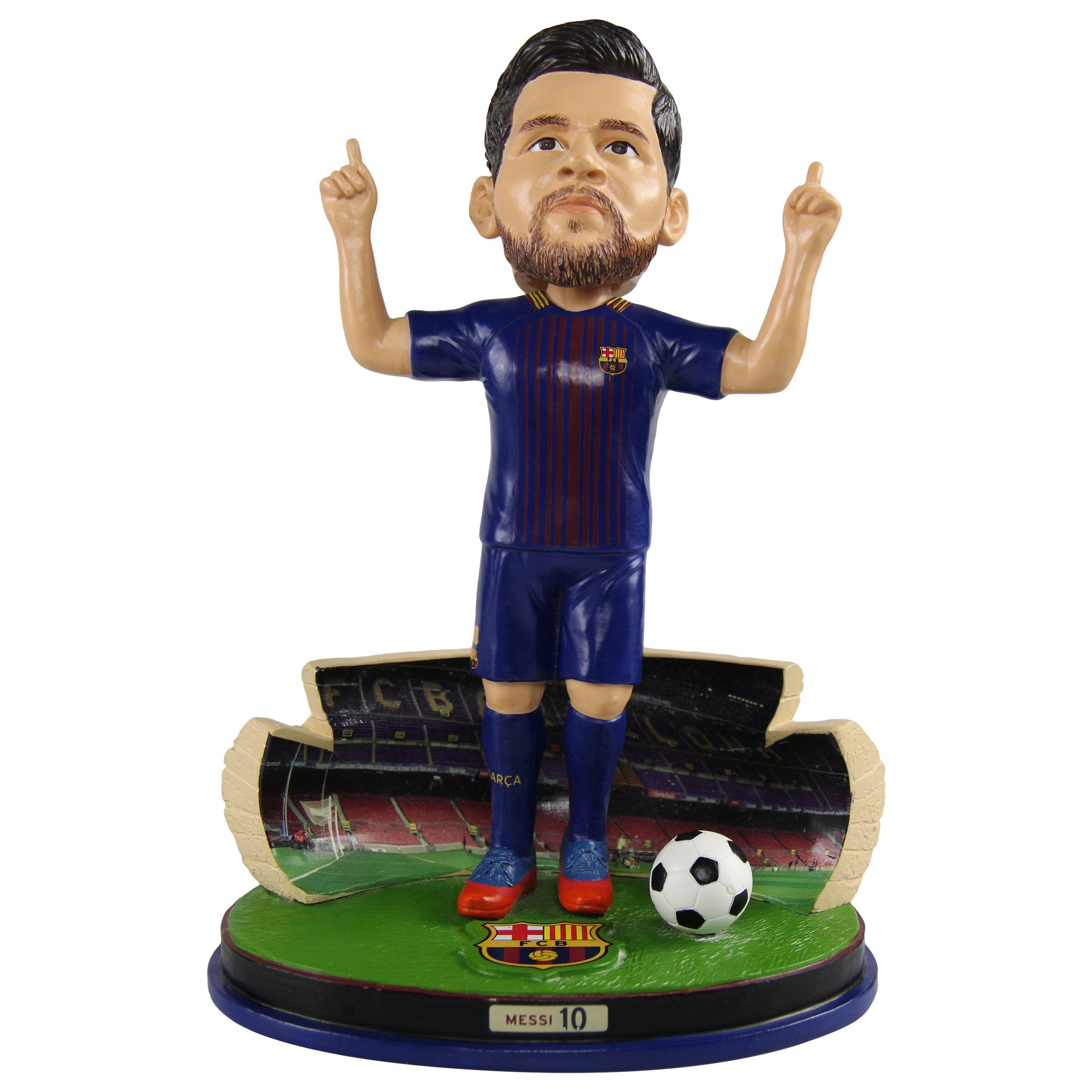 """Lionel Messi joueur de foot Action figure 12/"""" Fan Favorites Barca Barcelone pose"""