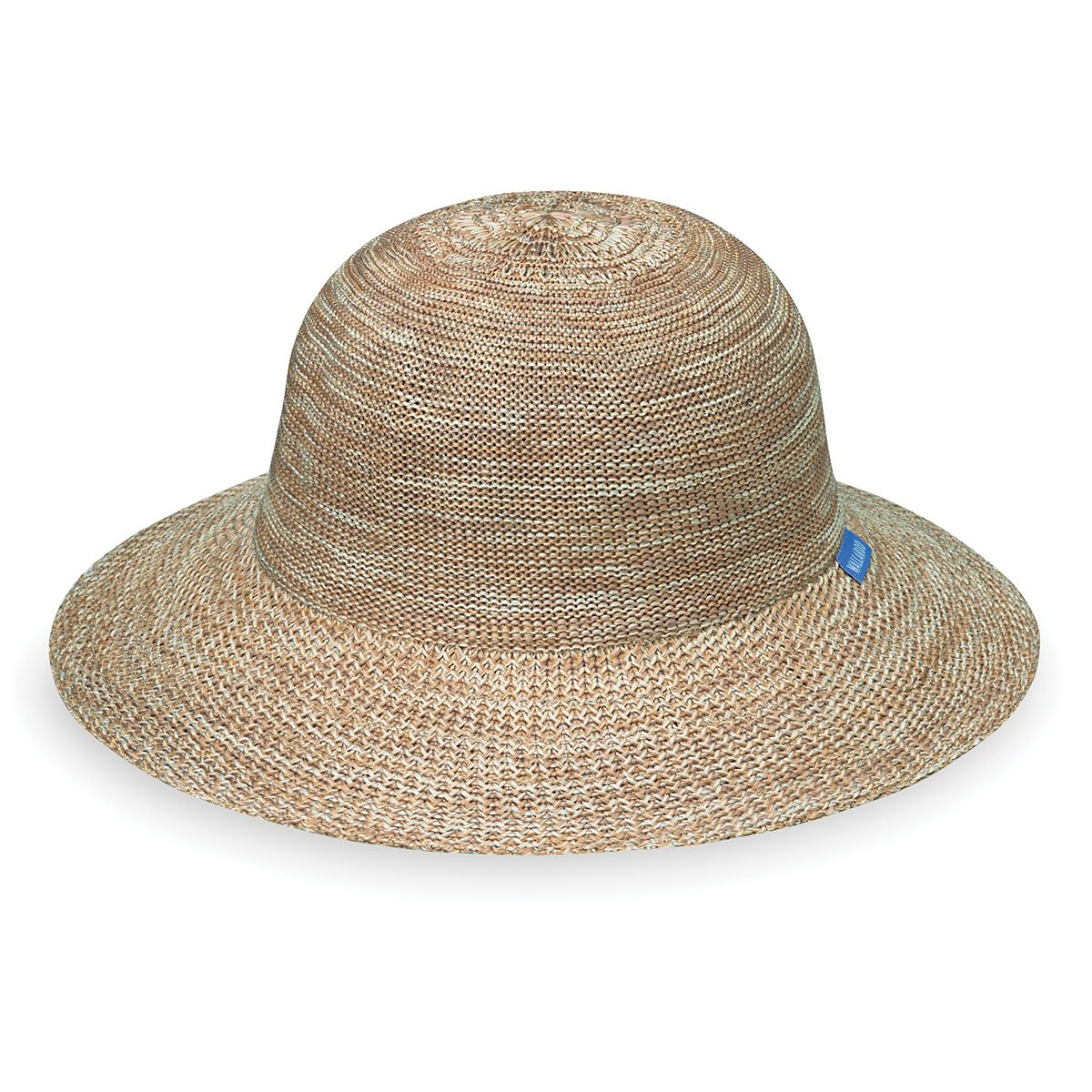 Wallaroo Hat Company Women's Victoria Sport Hat - Sporty and Compact - Mixed Camel