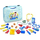 Learning Resources Pretend & Play Doctor Kit for Kids, 19 Piece set, Blue