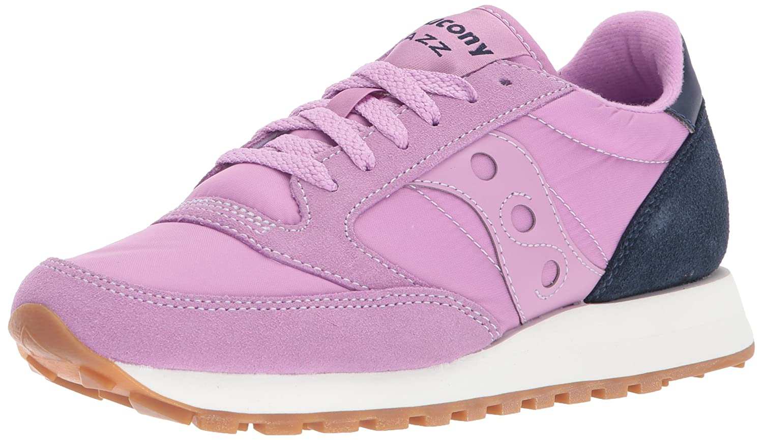 Saucony Originals Women's Jazz Original Sneaker, Coral Cream, 7.5 Medium US B01N0DXLTM 10 B(M) US|Lavender Charcoal