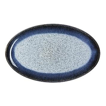 Denby Halo Oval Platter  sc 1 st  Amazon.com & Amazon.com: Denby Halo Oval Platter: Kitchen \u0026 Dining