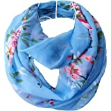 Tapp Collections Premium Soft Multicolor Sheer Infinity Scarf