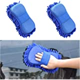 Tony Stark Multipurpose Car Sponge (2 Pieces) Scratch Free, Ultra Soft, Dry Cleaning Tool for Car, Home, and Office