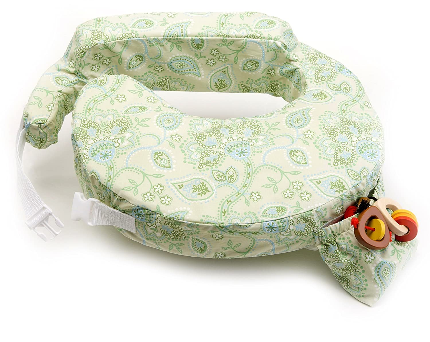 My Brest Friend Pillow, Green Paisley Zenoff Products Inc. 824