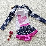 JELEUON Baby Girls Kids Toddler 2 Pcs Long Sleever