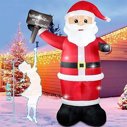 Amazon.com: Fanshunlite - Árbol de Navidad hinchable con ...