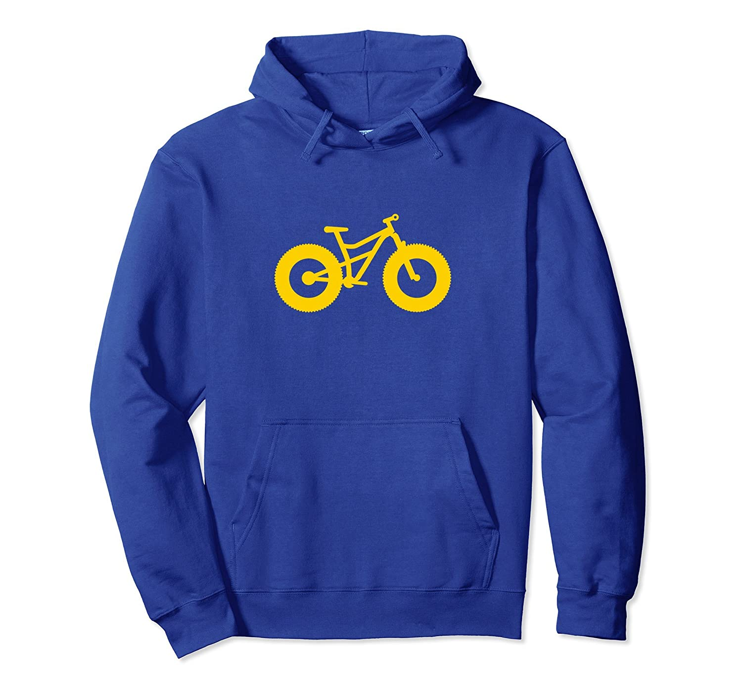 Simple Fat Bike Hoodie for Fat Tire Bike Fans - Gold-alottee gift