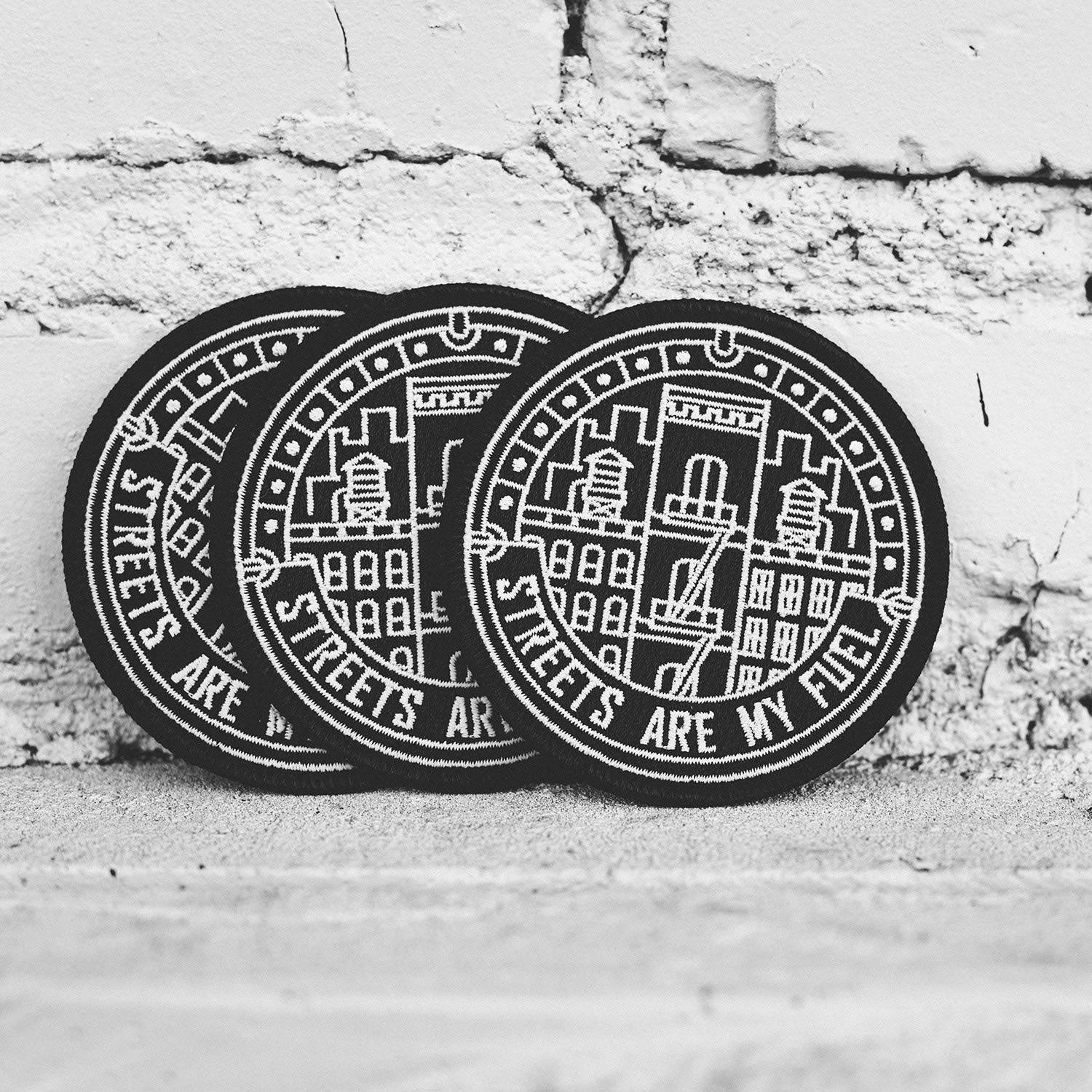 Asilda Store Embroidered Sew or Iron-on Patch Stoked on Life