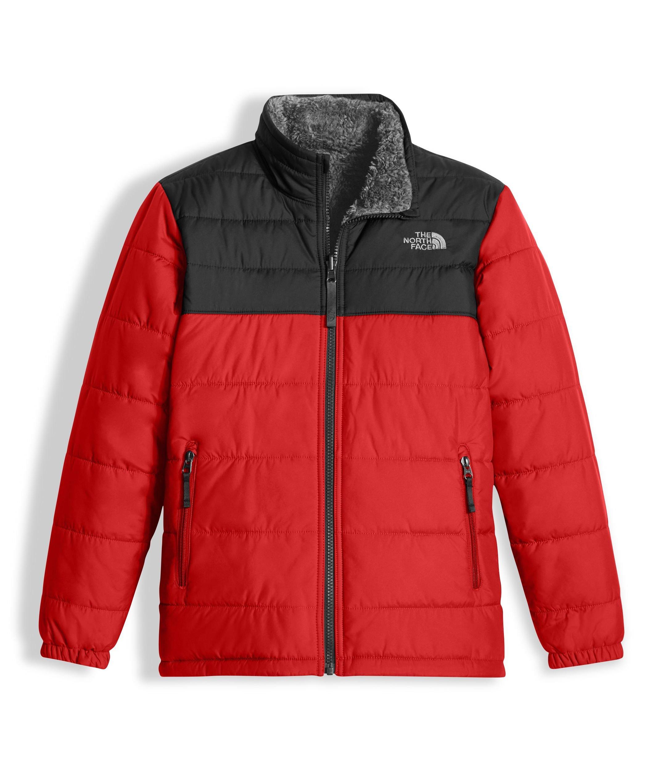 The North Face Kids Boy's Reversible Mount Chimborazo Jacket (Little Kids/Big Kids) TNF Red/TNF Black/TNF White X-Small