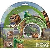 BBS Good Dinosaur Table Set, Melamine/polystirene, Multi-Colour, 27x 8x 25.5cm