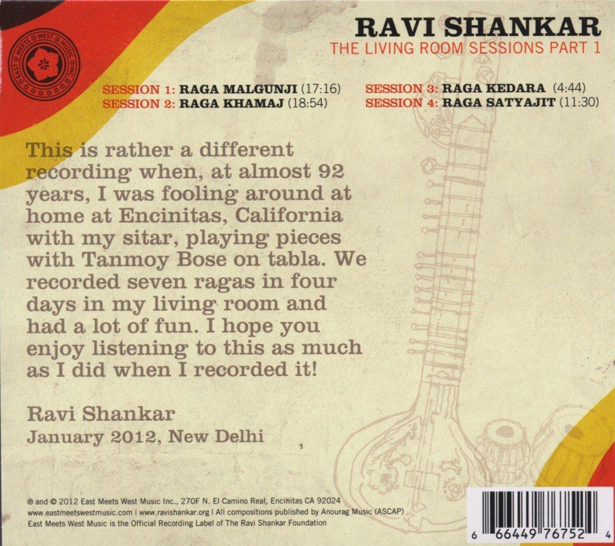 Ravi Shankar - Living Room Sessions - Part 1 - Amazon.com Music